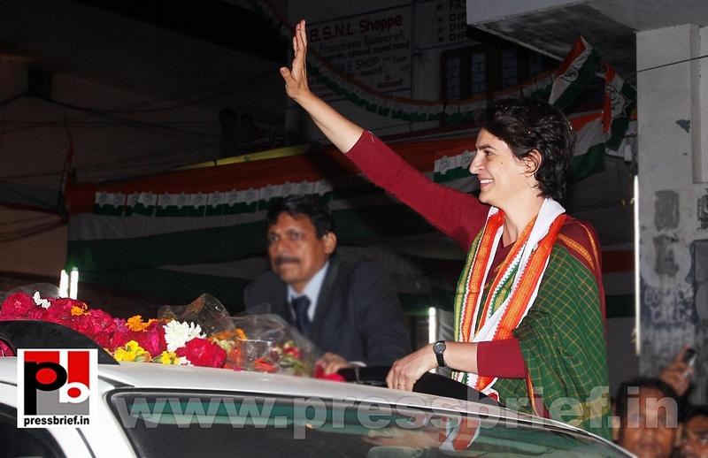 Congress star campaigner Priyanka Gandhi (1)
