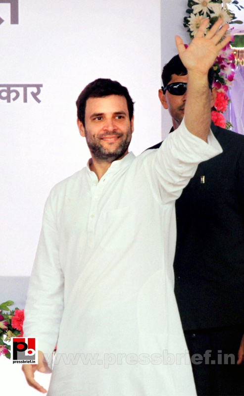Rahul Gandhi launches Food Park project  (1)