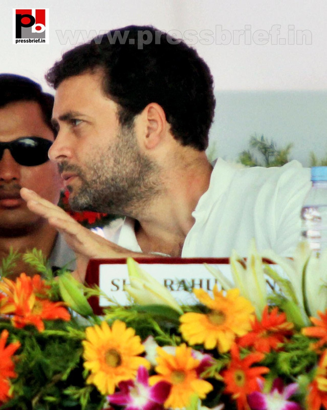 Rahul Gandhi launches Food Park project (3)