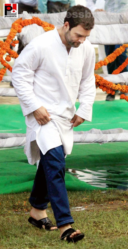 Rahul Gandhi launches Food Park project (5)