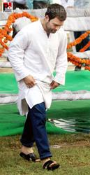 Rahul Gandhi launches Food Park project