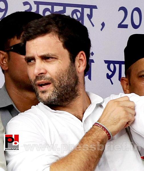 Rahul Gandhi addresses Congress rally at Rampur (6) by...