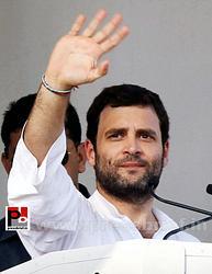 Rahul Gandhi addresses Congress rally at Rampur