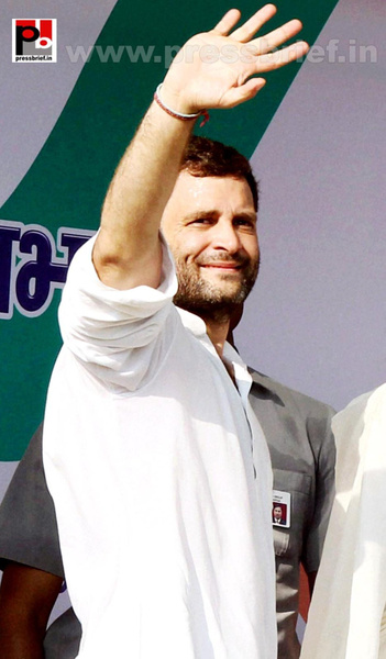 Rahul Gandhi addresses Congress rally at Rampur (2) by...
