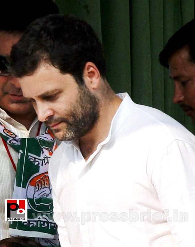 Rahul Gandhi addresses Congress rally at Rampur (3)
