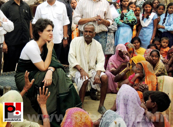 Priyanka Gandhi visits Raebareli by Pressbrief In by...