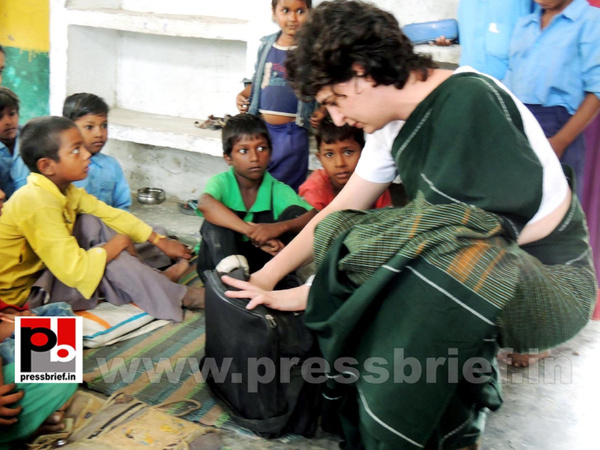 Priyanka Gandhi visits Raebareli (7) by Pressbrief In