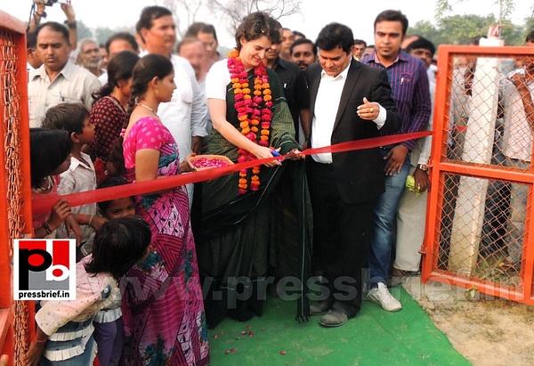 Priyanka Gandhi visits Raebareli by Pressbrief In
