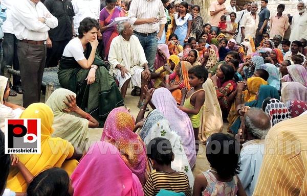 Priyanka Gandhi visits Raebareli (9) by Pressbrief In