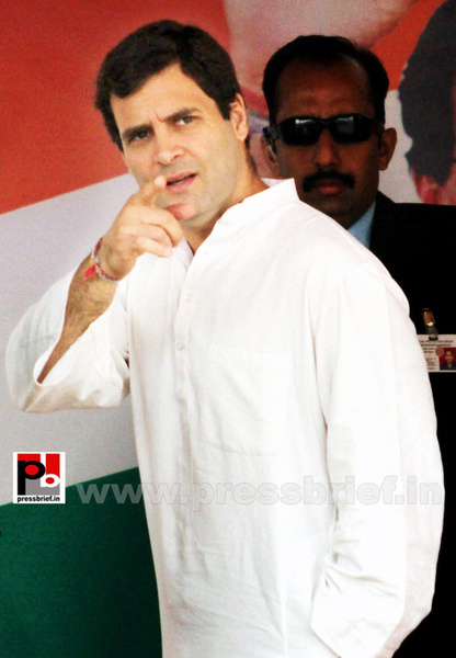 Rahul Gandhi on a two-day visit to J&K (4) by Pressbrief...