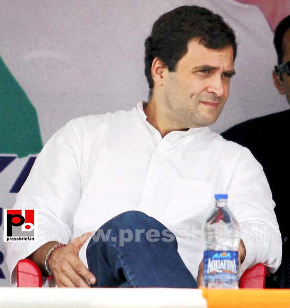 Rahul Gandhi on a two-day visit to J&K (5) by Pressbrief...
