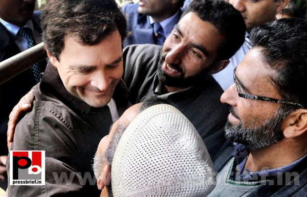 Rahul Gandhi on a two-day visit to J&K (8) by Pressbrief...