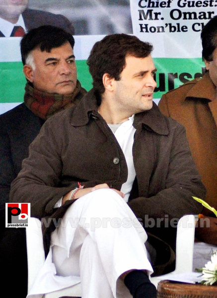 Rahul Gandhi on a two-day visit to J&K (9) by Pressbrief...
