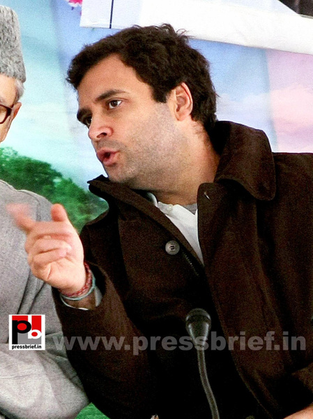 Rahul Gandhi on a two-day visit to J&K (11) by...