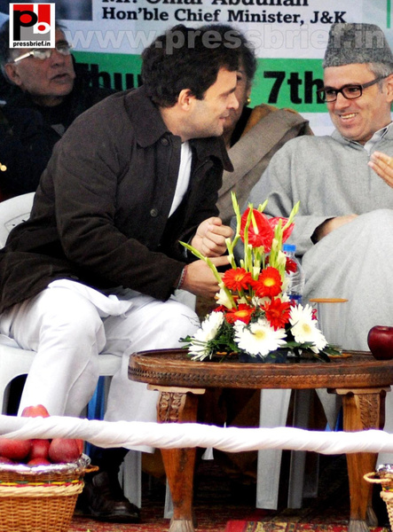 Rahul Gandhi on a two-day visit to J&K (12) by...