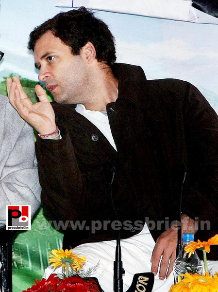 Rahul Gandhi on a two-day visit to J&K (13) by...