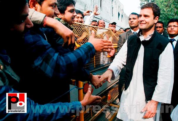 Rahul Gandhi meets Jat leaders (2) by Pressbrief In