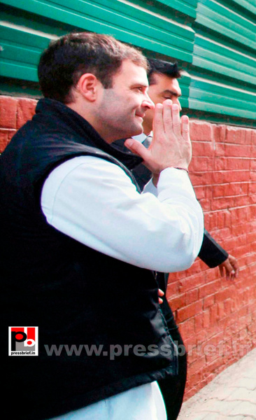 Rahul Gandhi meets Jat leaders (3) by Pressbrief In