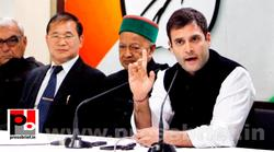 Rahul Gandhi talks to media after CMs meet