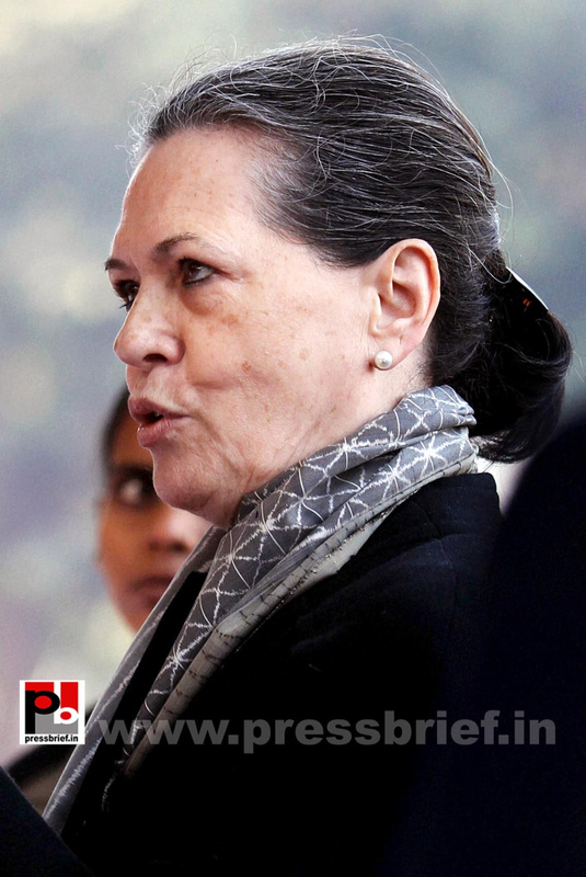 Sonia Gandhi at Congress' 128th foundation day function (1)