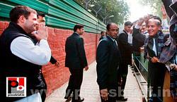 Rahul Gandhi meets Jat leaders