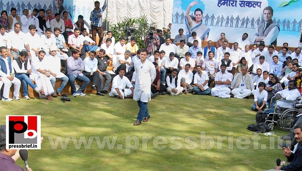 Rahul Gandhi in Bangalore interacts with youth  (2) by...