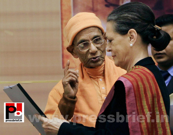 Sonia Gandhi at birth anniversary function of...