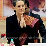 Sonia Gandhi at birth anniversary function of Vivekananda