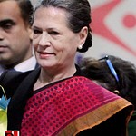 Sonia Gandhi at SAMARTH function