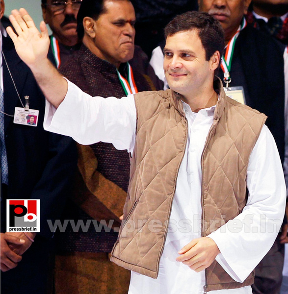 Rahul Gandhi at AICC session in New Delhi (1) by...
