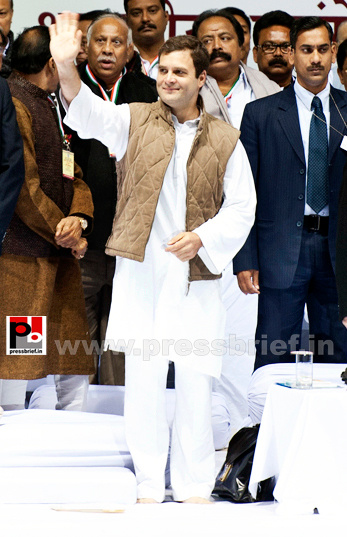 Rahul Gandhi at AICC session in New Delhi (3) by...