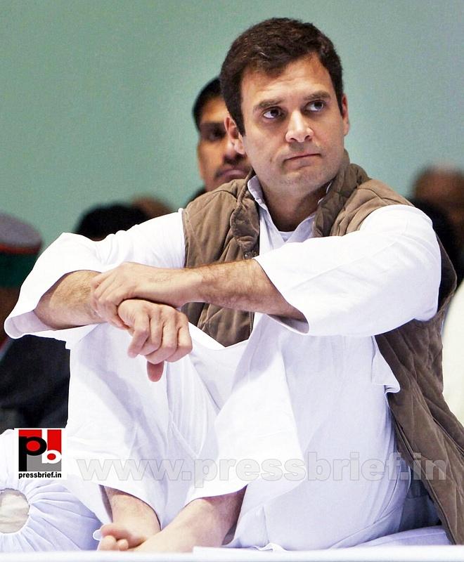 Rahul Gandhi at AICC session in New Delhi (10)