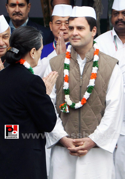 Rahul Gandhi at AICC session in New Delhi (8) by...