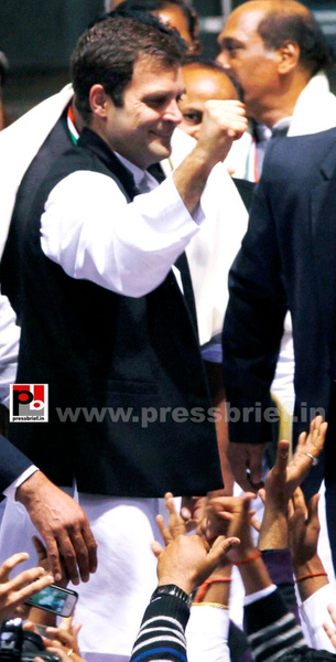 Rahul Gandhi at AICC session in New Delhi (09) by...