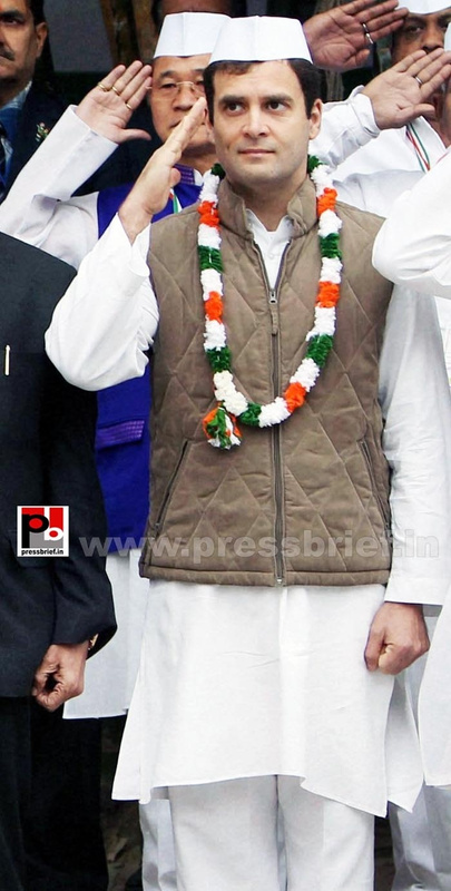 Rahul Gandhi at AICC session in New Delhi (11)