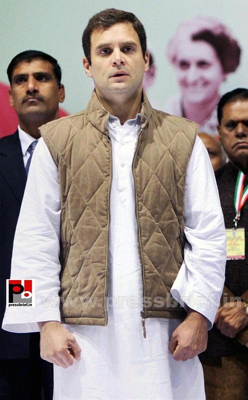 Rahul Gandhi at AICC session in New Delhi (14)