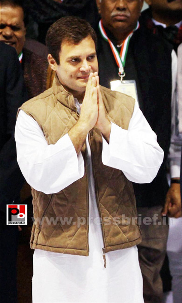 Rahul Gandhi at AICC session in New Delhi (15) by...
