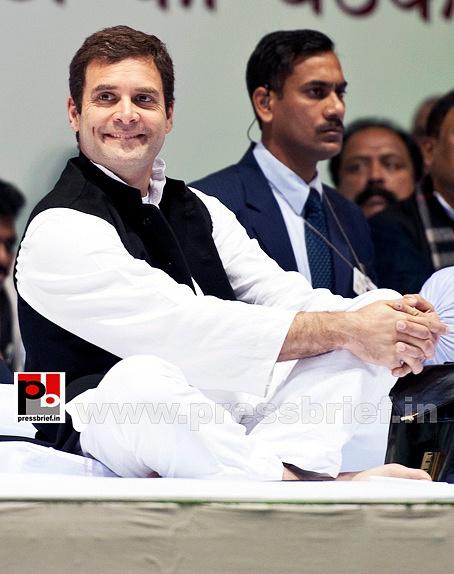 Rahul Gandhi at AICC session in New Delhi (19)