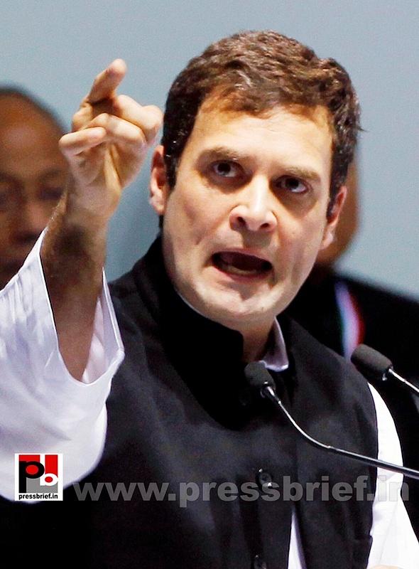 Rahul Gandhi at AICC session in New Delhi (24)