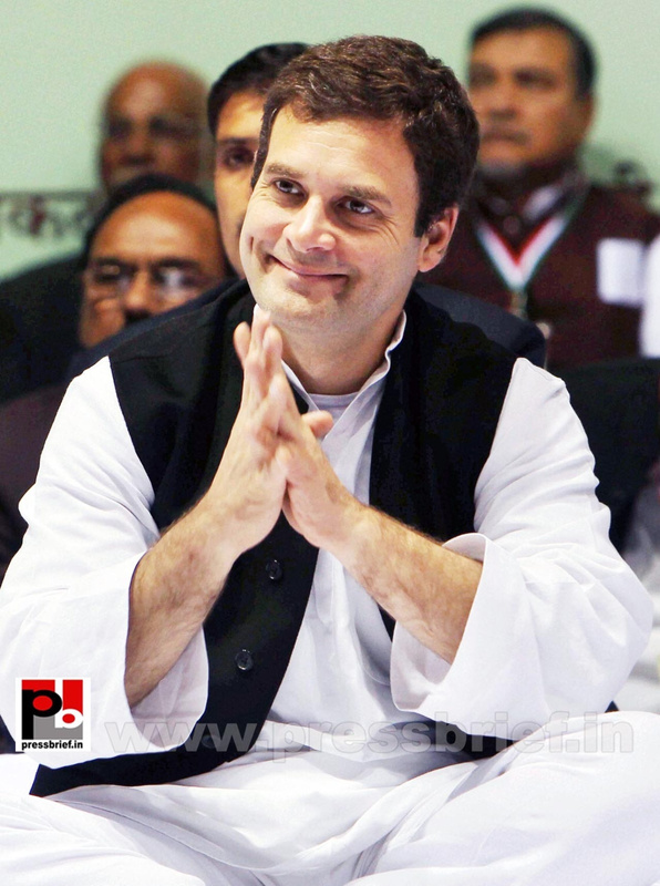 Rahul Gandhi at AICC session in New Delhi (26)