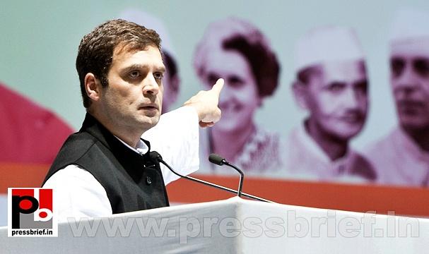 Rahul Gandhi at AICC session in New Delhi (29)
