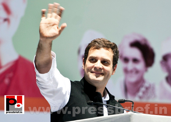 Rahul Gandhi at AICC session in New Delhi (30)