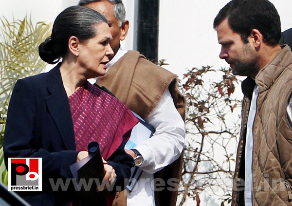 Sonia Gandhi attend campaign committee meeting (3) by...