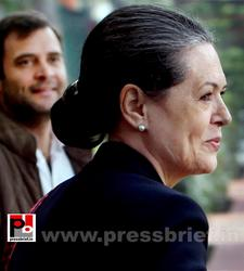 Sonia Gandhi attend campaign committee meeting