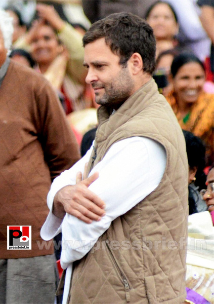 Rahul Gandhi interacts with Aanganwadi workers (2) by...