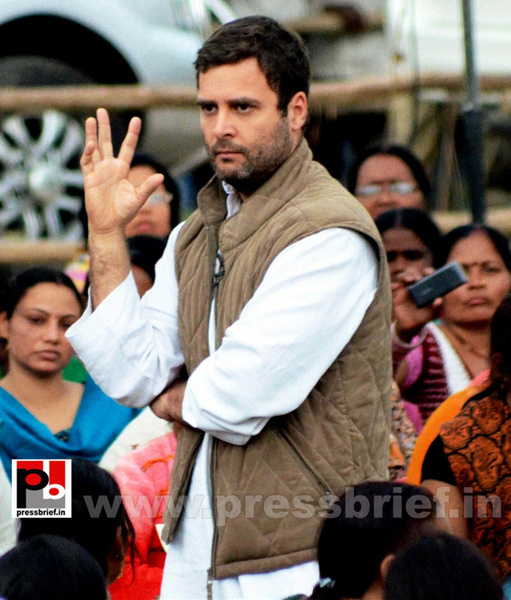 Rahul Gandhi interacts with Aanganwadi workers (3) by...