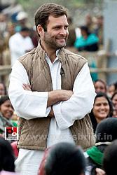 Rahul Gandhi interacts with Aanganwadi workers