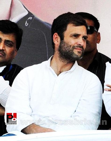 Rahul Gandhi at rally in Aurangabad (3) by Pressbrief In