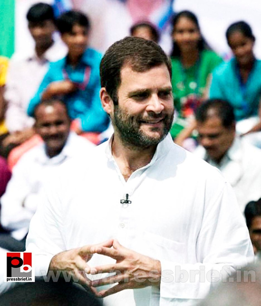 Rahul Gandhi at rally in Aurangabad (7) by Pressbrief In
