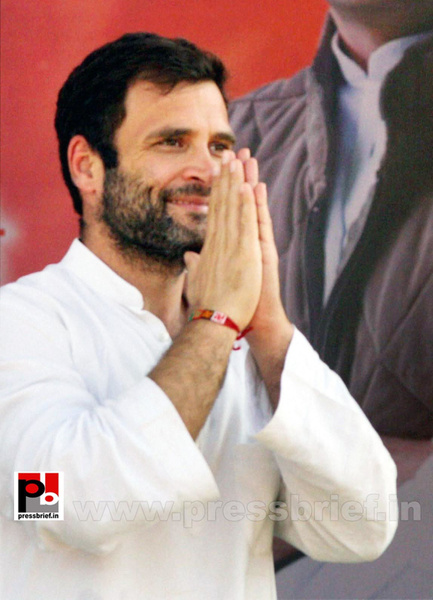 Rahul Gandhi at Thane, Maharashtra (4) by Pressbrief In